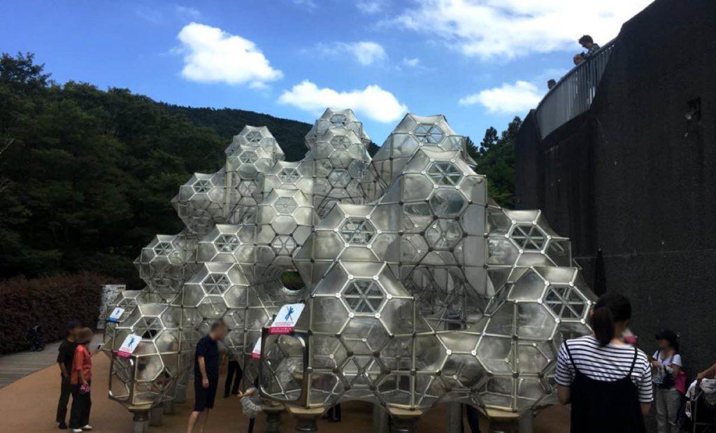 彫刻の森美術館のシャボン玉のお城