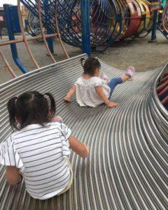 上千葉砂原公園の滑り台