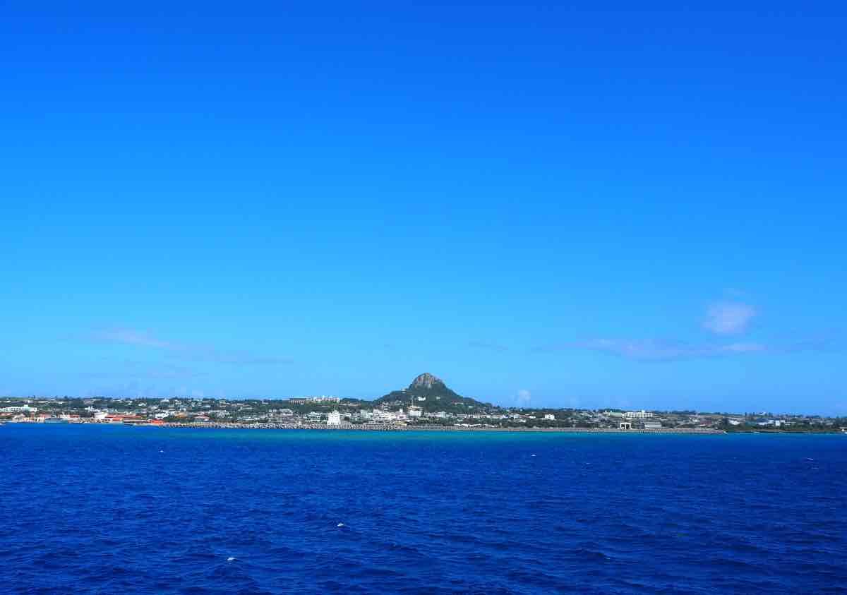 伊江島の伊江島島タッチュー