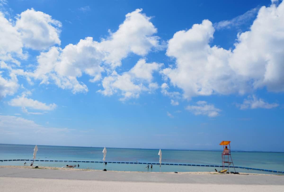 美らSUNビーチの全体図