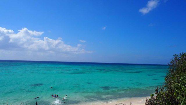 伊江島のGIビーチ
