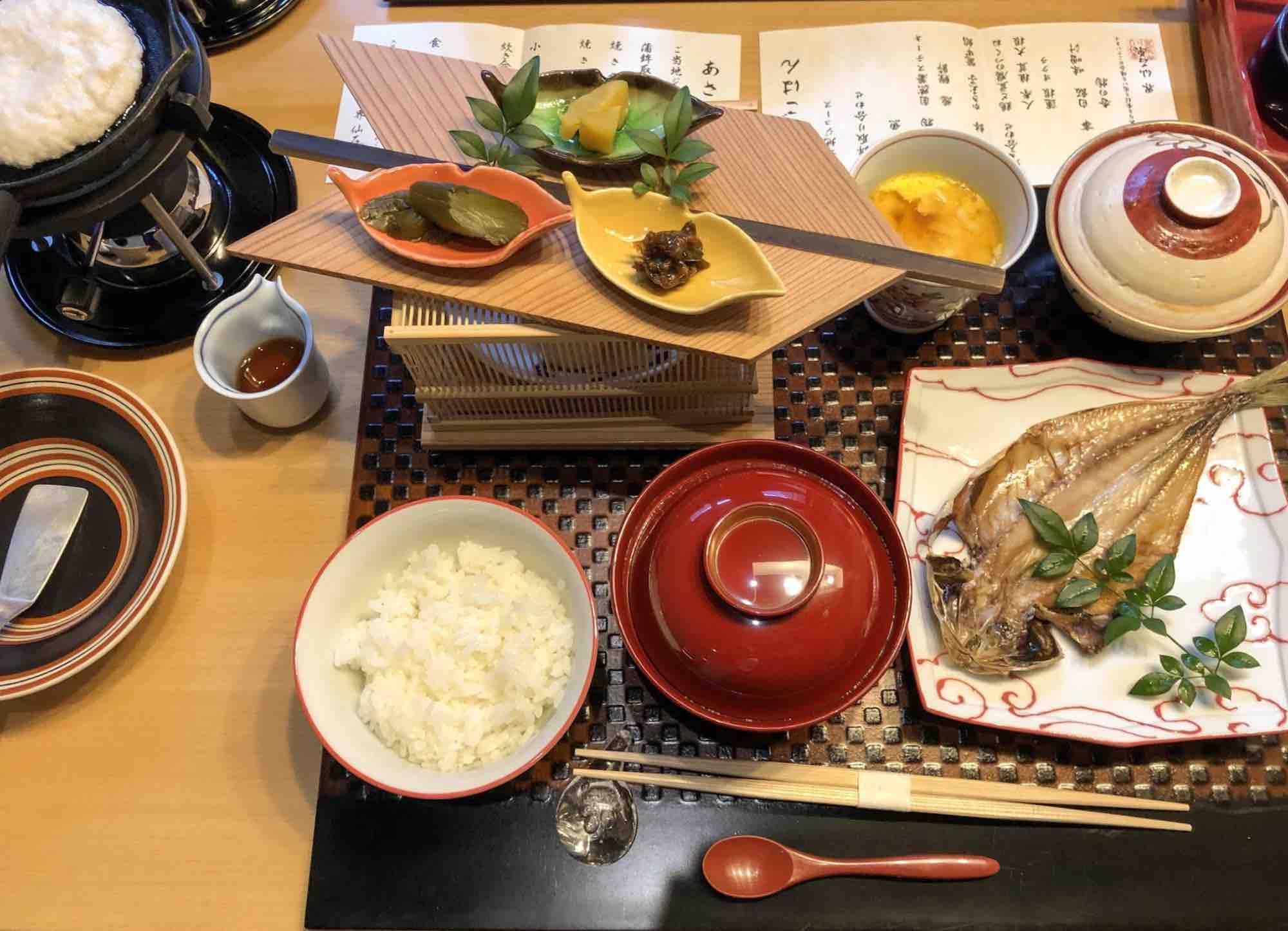 界仙石原の朝食