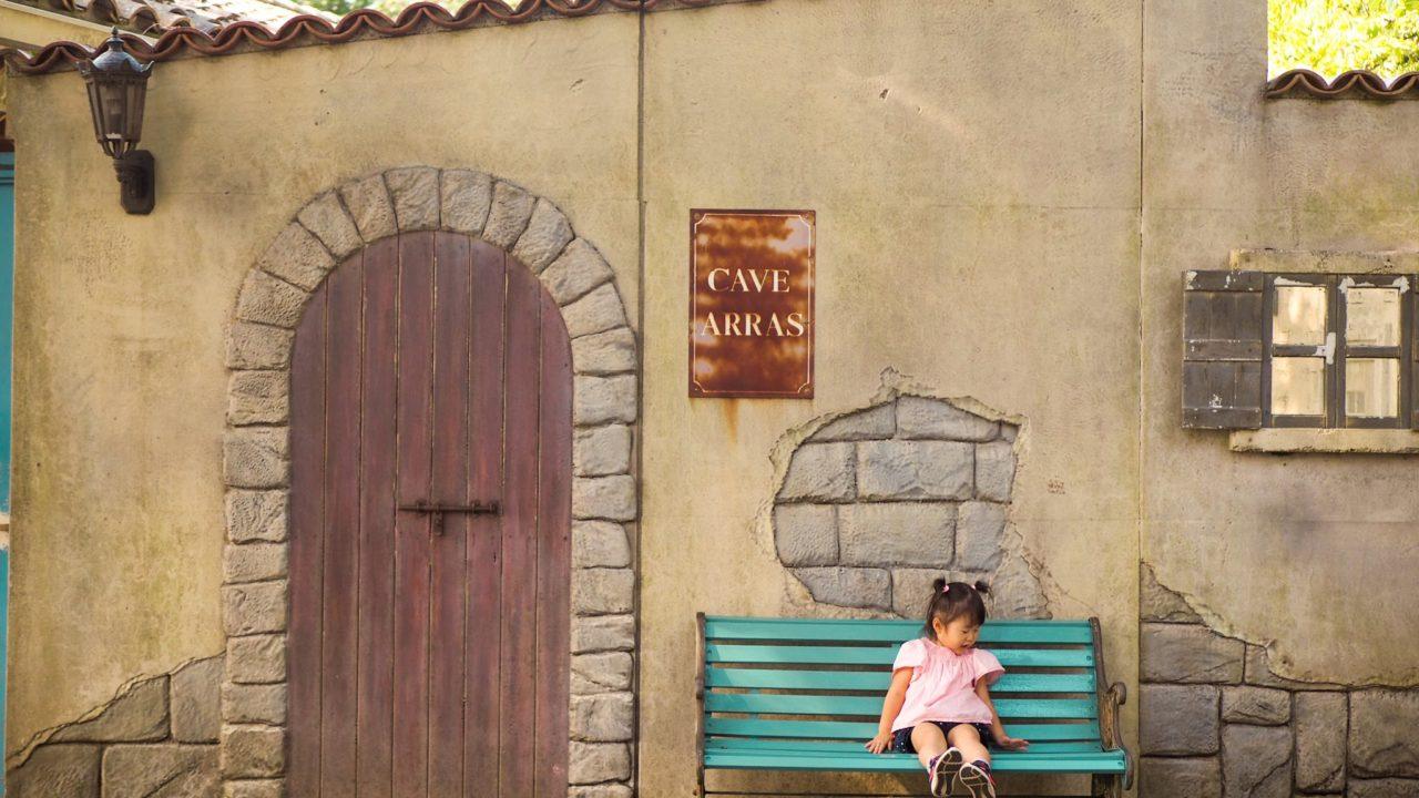 星の王子様ミュージアムの椅子