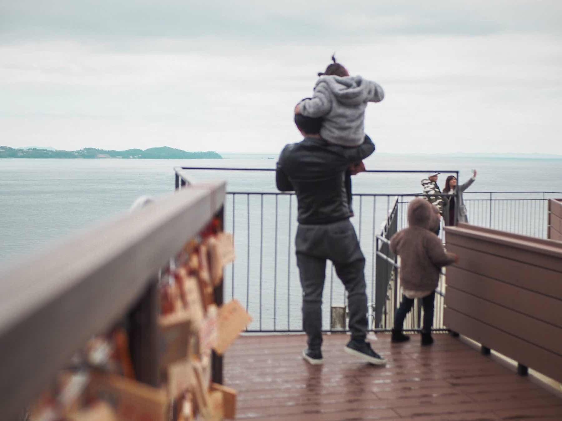熱海ロープーウェイの展望台