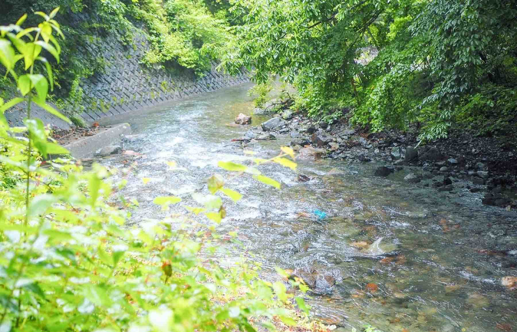 KEIKOKU GLAMINGスイートテンとから降りられる川